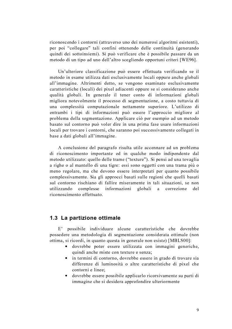 Anteprima della tesi: Algoritmo del taglio normalizzato per la segmentazione di immagini, Pagina 5