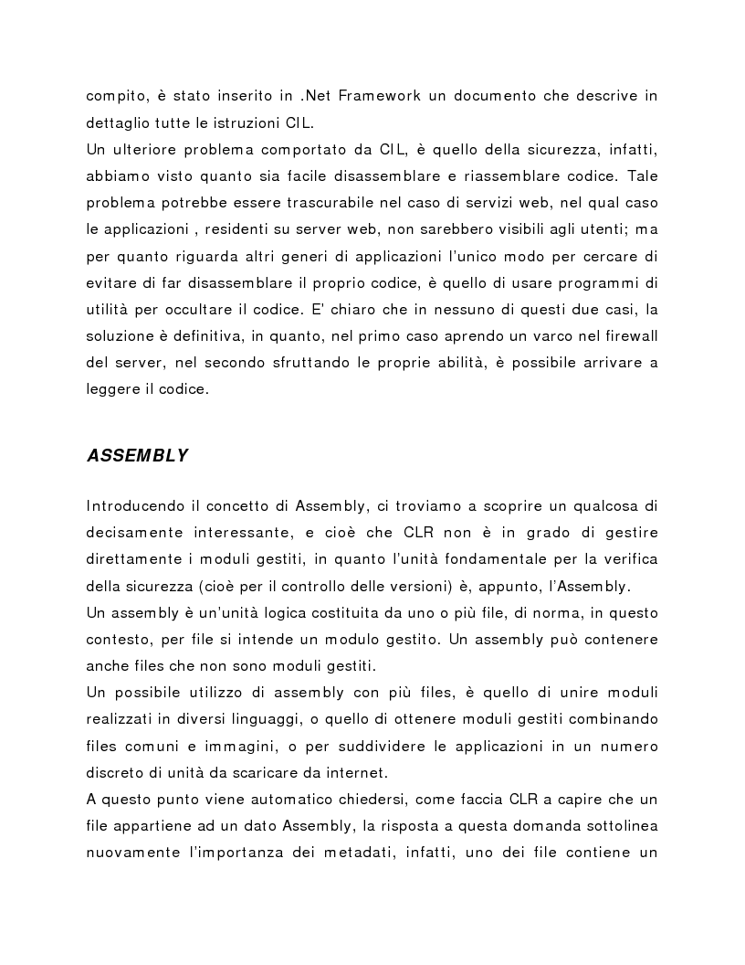 Anteprima della tesi: Progettazione e realizzazione applicazioni web e back office con la piattaforma Microsoft .NET, Pagina 10