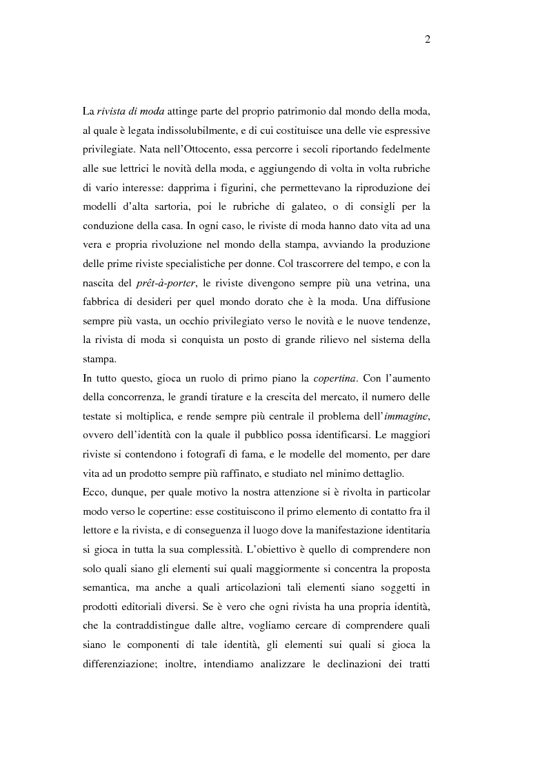 Anteprima della tesi: Moda e caratterizzazioni nazionali: testi e variazioni. La costruzione identitaria, Pagina 2