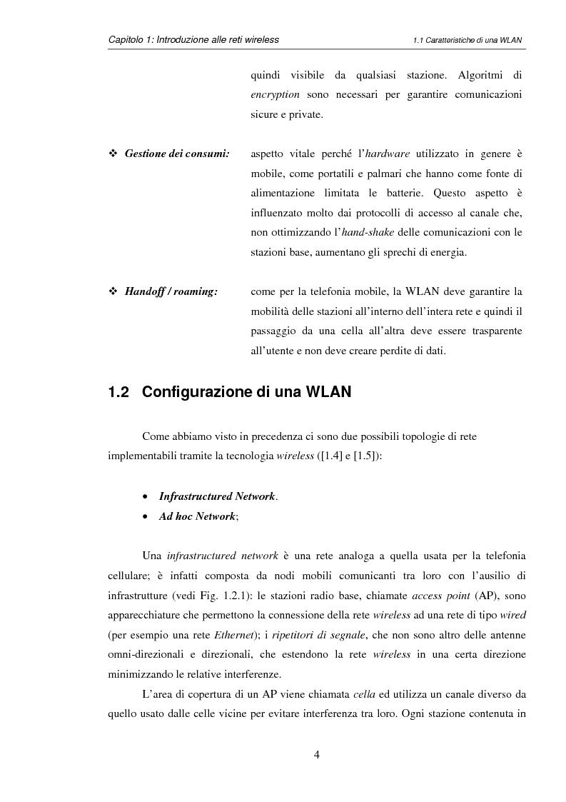 Anteprima della tesi: Impatto del carrier sensing e della Fresnel zone in reti locali wireless ad hoc 802.11, Pagina 7