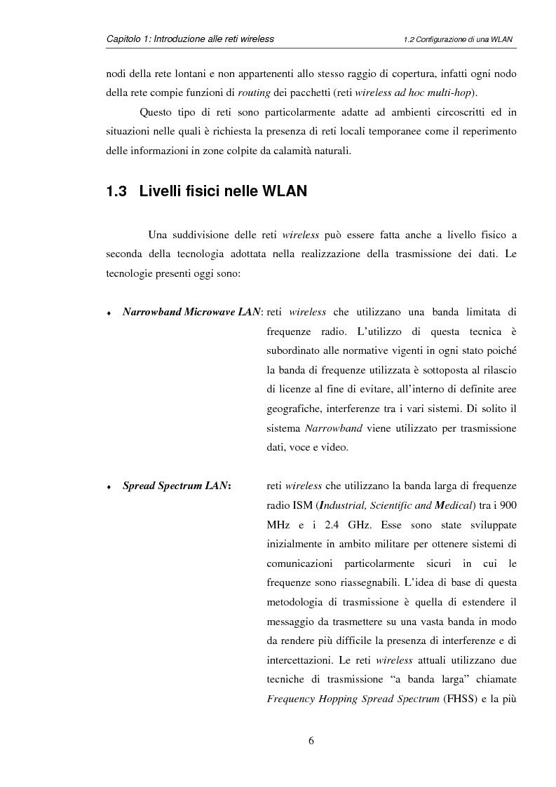Anteprima della tesi: Impatto del carrier sensing e della Fresnel zone in reti locali wireless ad hoc 802.11, Pagina 9