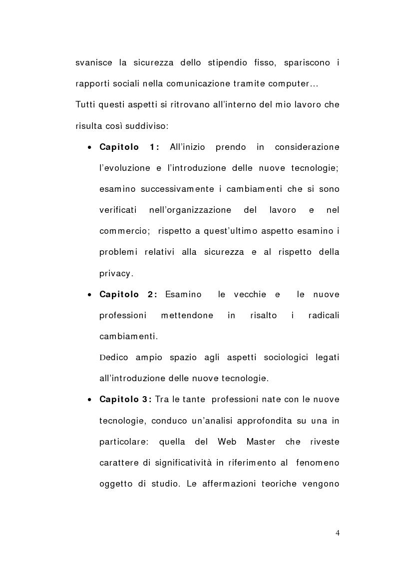 Anteprima della tesi: La dimensione del lavoro nel settore Ict, Pagina 2