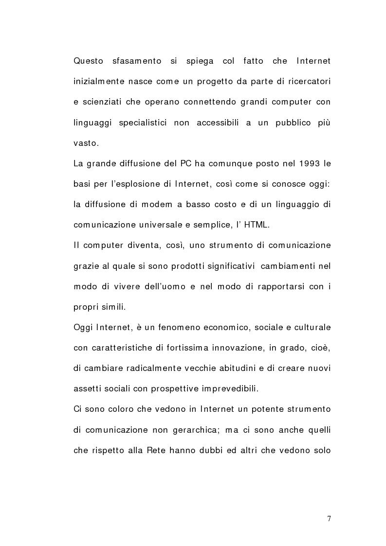 Anteprima della tesi: La dimensione del lavoro nel settore Ict, Pagina 5