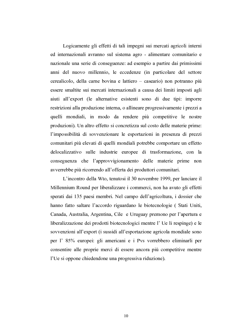 Anteprima della tesi: L'industria alimentare e il caso dei prodotti biologici, Pagina 10