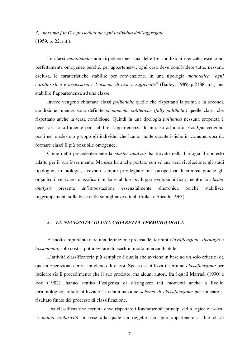 Anteprima della tesi: Strategie di classificazione automatica nella ricerca sociale: un'analisi delle risorse e dei vincoli, Pagina 7