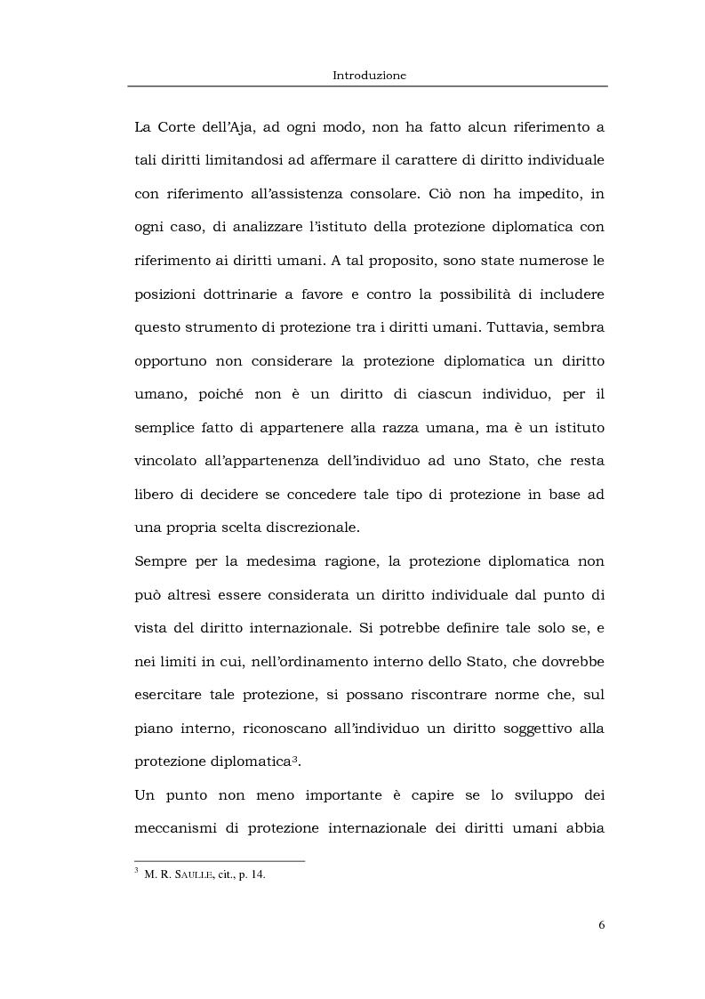 Anteprima della tesi: Il caso LaGrand e la tutela internazionale dei diritti umani, Pagina 6