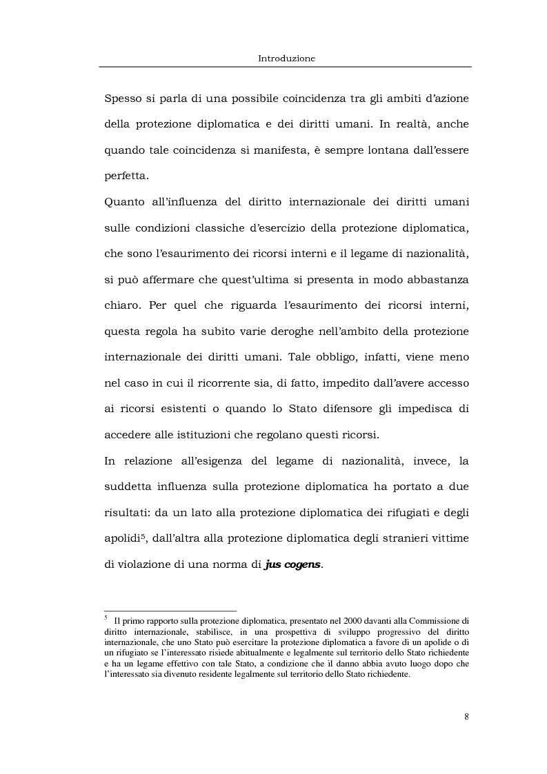 Anteprima della tesi: Il caso LaGrand e la tutela internazionale dei diritti umani, Pagina 8