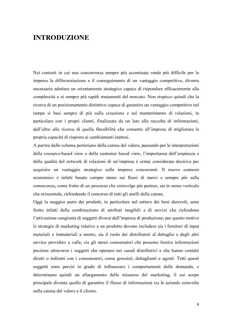 Anteprima della tesi: Il marketing relazionale nella grande distribuzione, Pagina 1
