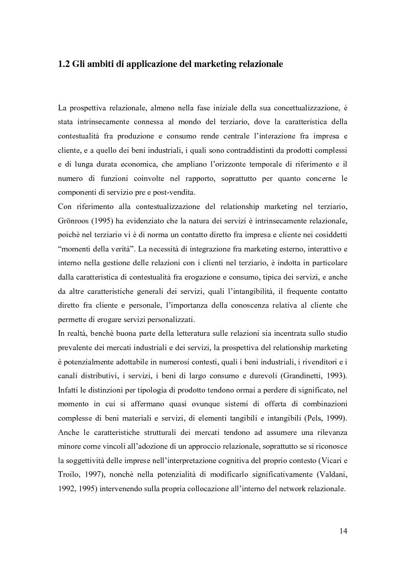 Anteprima della tesi: Il marketing relazionale nella grande distribuzione, Pagina 11