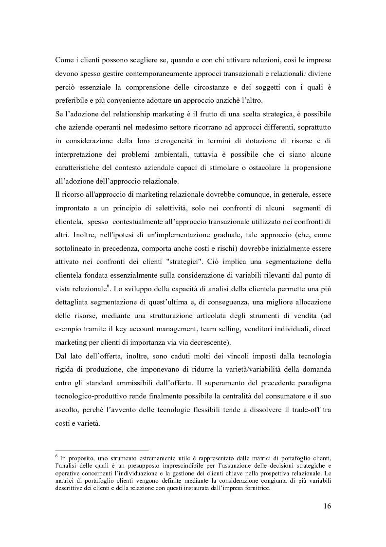 Anteprima della tesi: Il marketing relazionale nella grande distribuzione, Pagina 13
