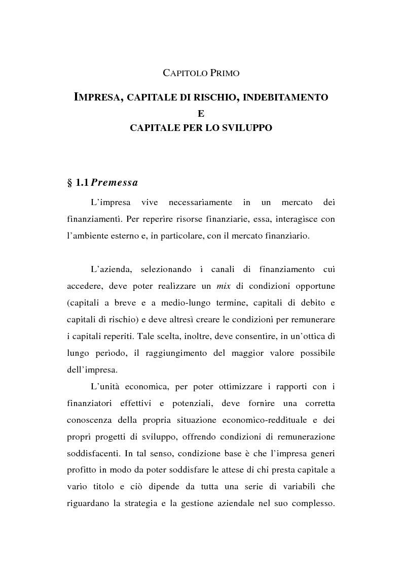 Anteprima della tesi  La quotazione in Borsa di una media impresa  familiare 0ebd4227c8c