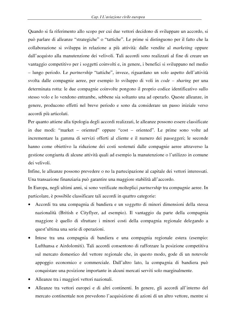Anteprima della tesi: Il fenomeno del volo low cost in Europa: risvolti economici, sociali, turistici, Pagina 11
