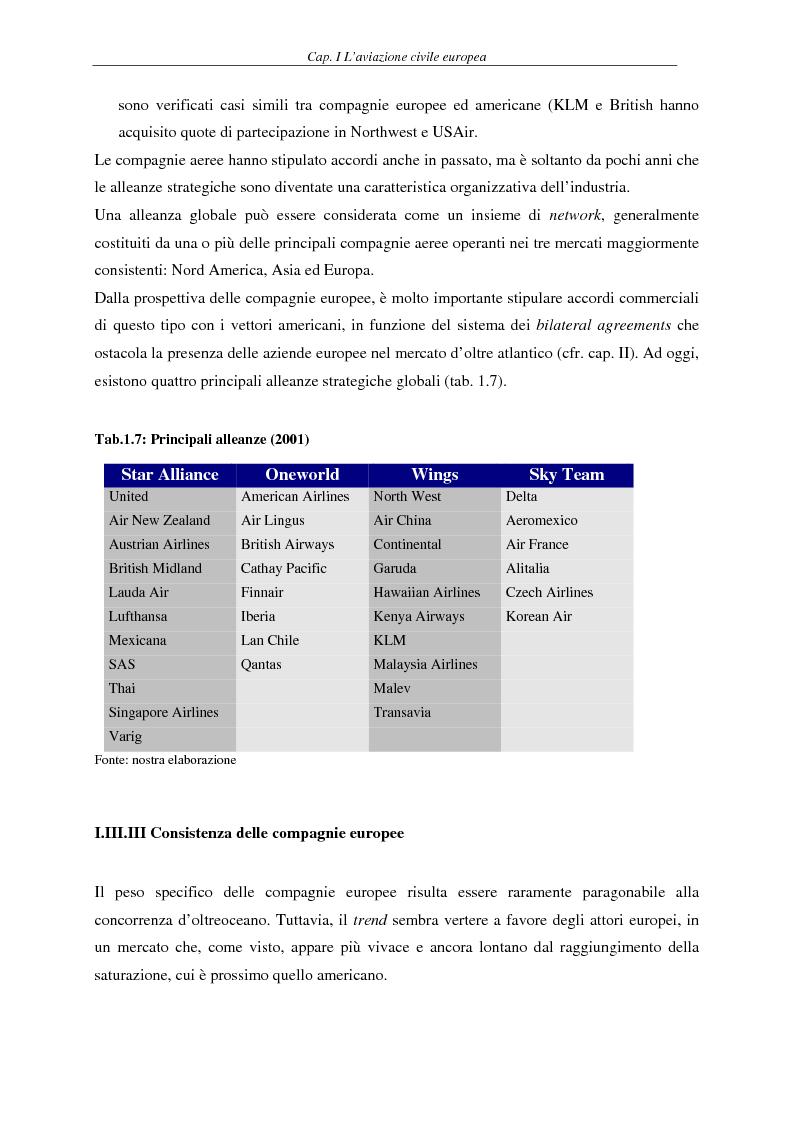 Anteprima della tesi: Il fenomeno del volo low cost in Europa: risvolti economici, sociali, turistici, Pagina 12