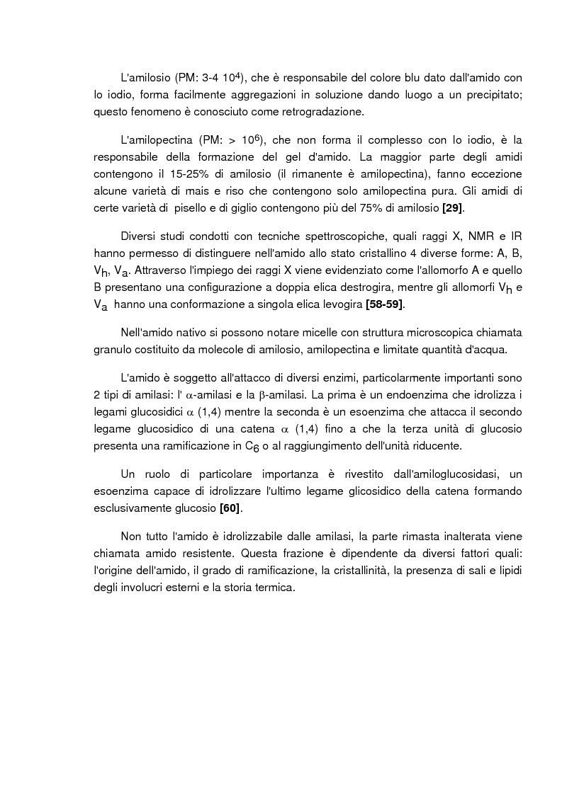 Anteprima della tesi: Caratterizzazione e valutazione delle proprietà complessanti di materiali a base di ciclodestrina, Pagina 2