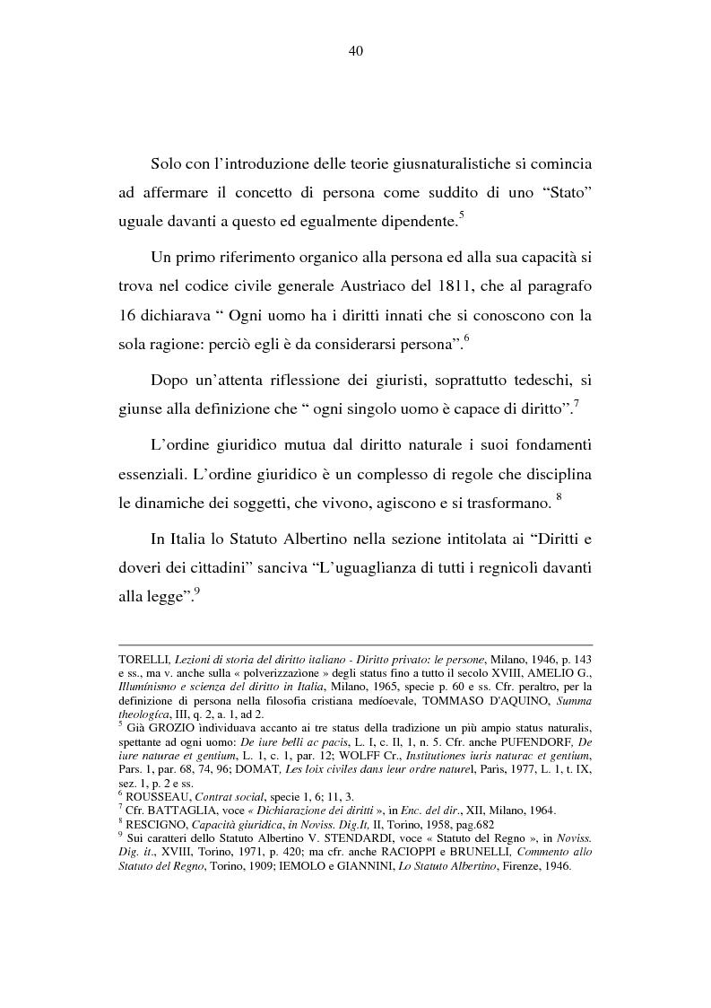 Anteprima della tesi: La capacità matrimoniale del minore in diritto canonico e nel diritto civile italiano, Pagina 5