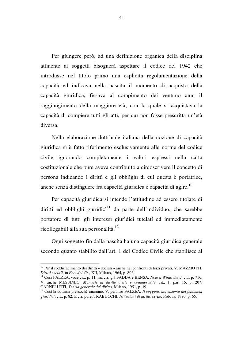 Anteprima della tesi: La capacità matrimoniale del minore in diritto canonico e nel diritto civile italiano, Pagina 6