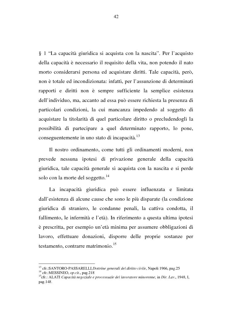 Anteprima della tesi: La capacità matrimoniale del minore in diritto canonico e nel diritto civile italiano, Pagina 7