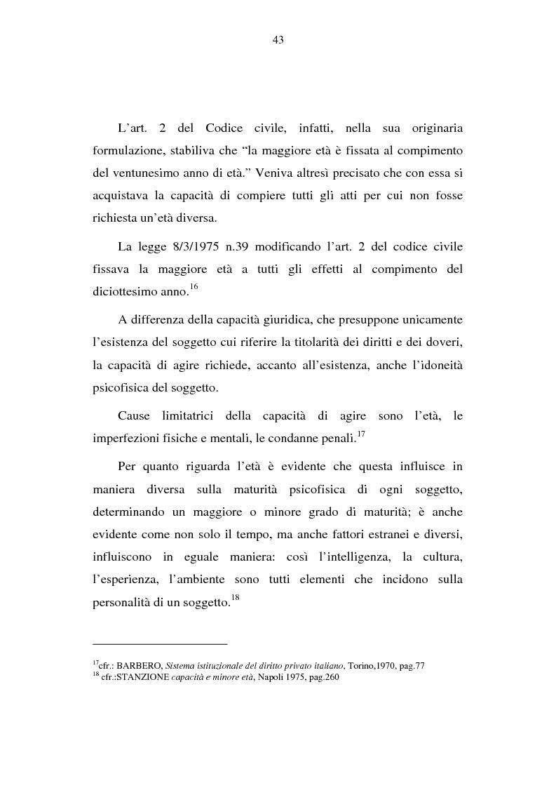 Anteprima della tesi: La capacità matrimoniale del minore in diritto canonico e nel diritto civile italiano, Pagina 8