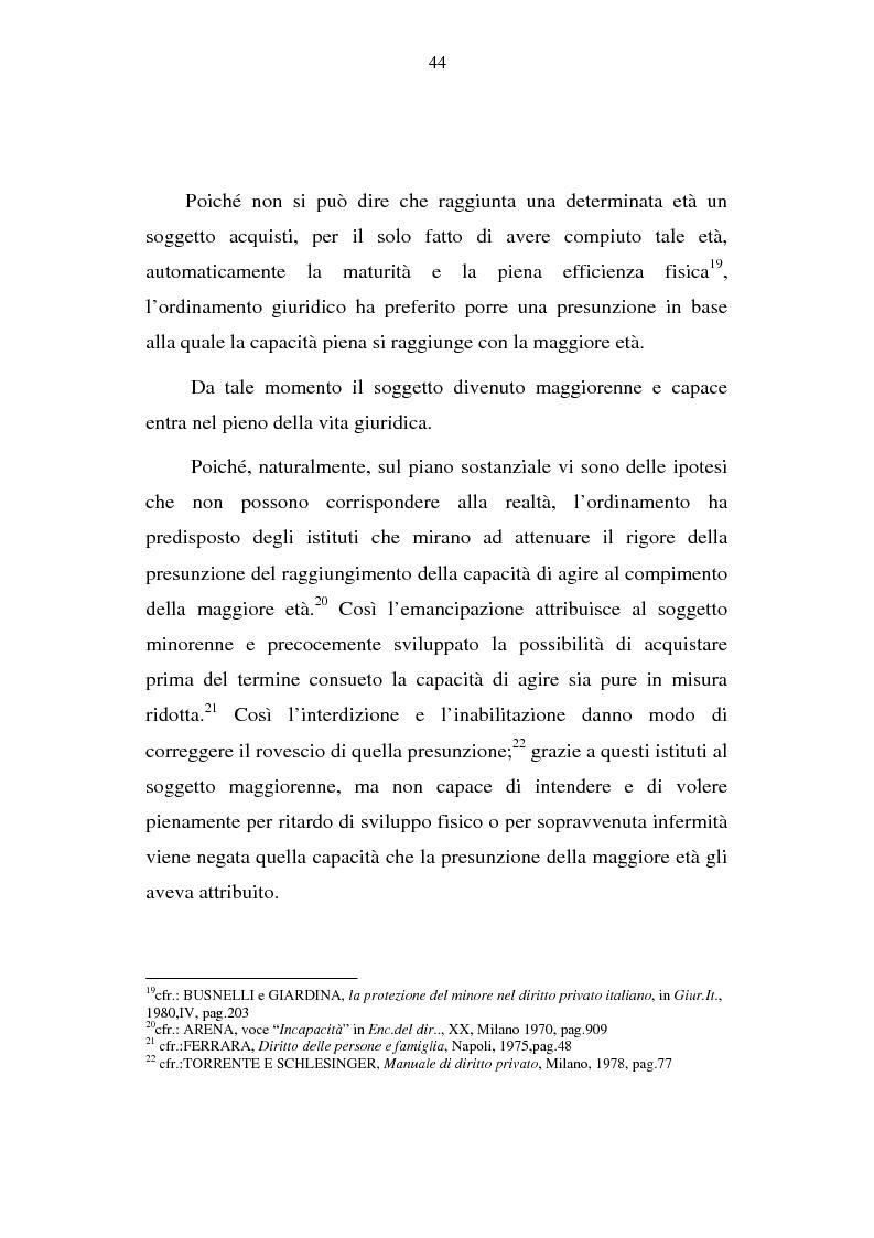 Anteprima della tesi: La capacità matrimoniale del minore in diritto canonico e nel diritto civile italiano, Pagina 9