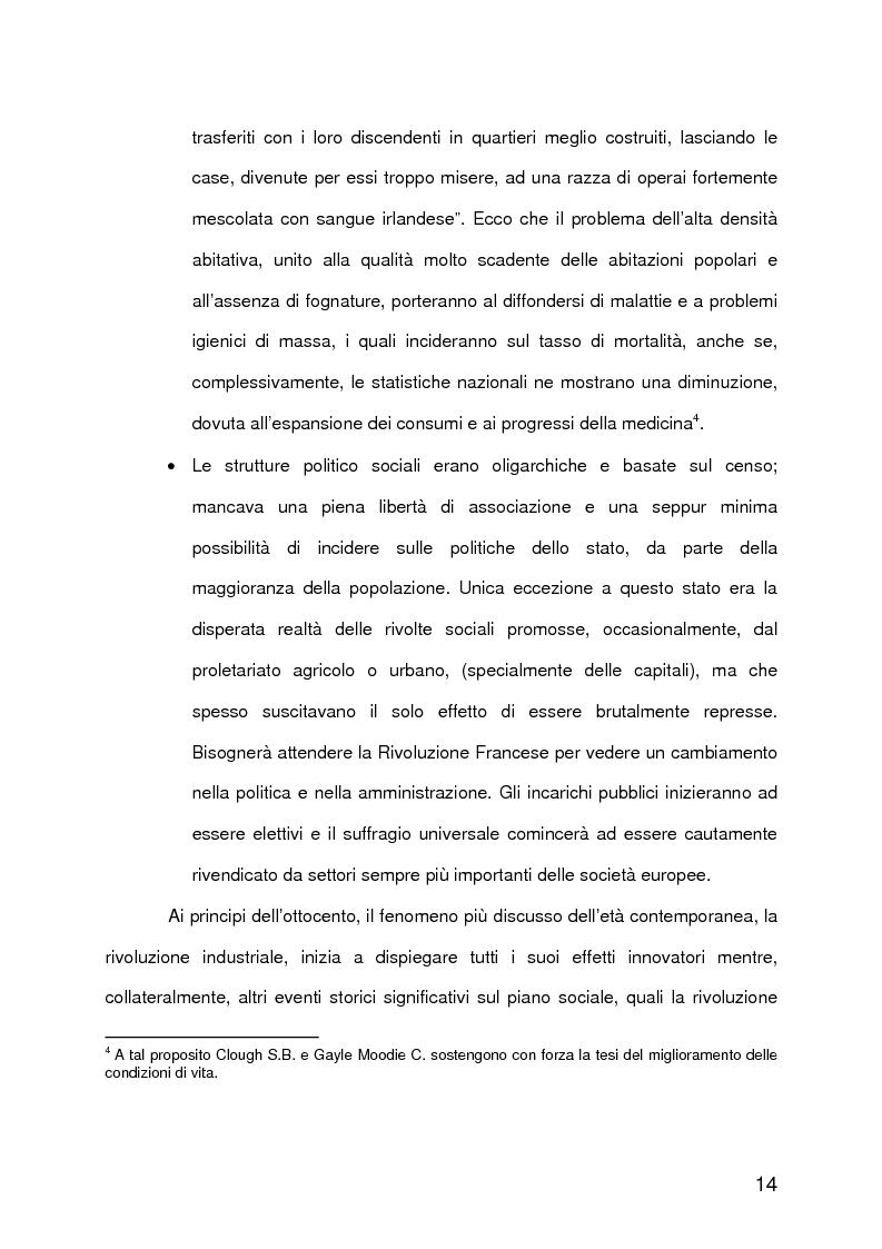 Anteprima della tesi: La qualità della vita urbana, aspetti sociologici. Analisi e metodi di valutazione, Pagina 9