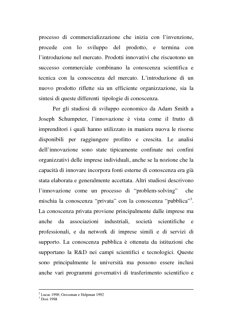 Anteprima della tesi: Le organizzazioni territoriali dell'innovazione, il caso Sophia Antipolis, Pagina 2