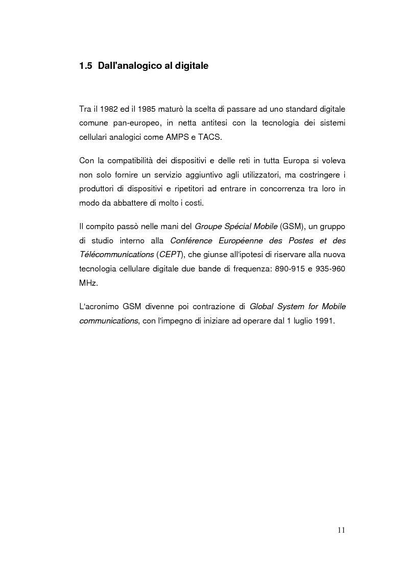 Anteprima della tesi: Telefonia mobile: impatto sociale. Indagine empirico-comparativa sulla percezione e l'uso del telefonino da parte di studenti universitari di Italia e Finlandia, Pagina 11