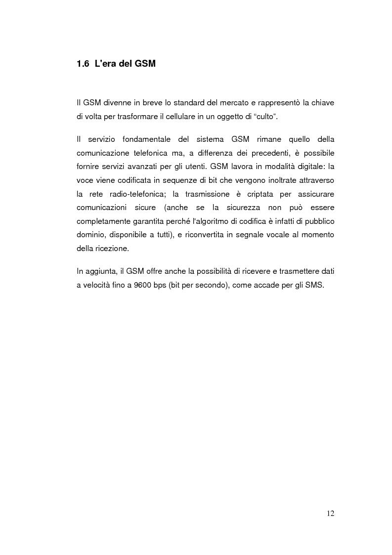 Anteprima della tesi: Telefonia mobile: impatto sociale. Indagine empirico-comparativa sulla percezione e l'uso del telefonino da parte di studenti universitari di Italia e Finlandia, Pagina 12