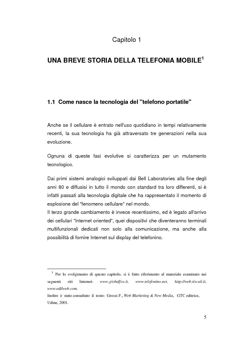 Anteprima della tesi: Telefonia mobile: impatto sociale. Indagine empirico-comparativa sulla percezione e l'uso del telefonino da parte di studenti universitari di Italia e Finlandia, Pagina 5