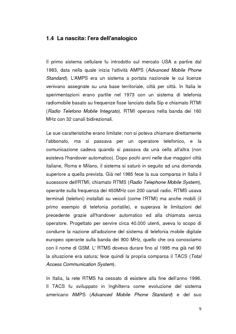 Anteprima della tesi: Telefonia mobile: impatto sociale. Indagine empirico-comparativa sulla percezione e l'uso del telefonino da parte di studenti universitari di Italia e Finlandia, Pagina 9