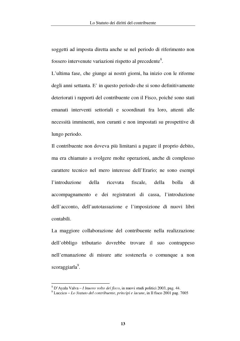 Anteprima della tesi: La tutela del contribuente nello Statuto dei diritti del contribuente, Pagina 10