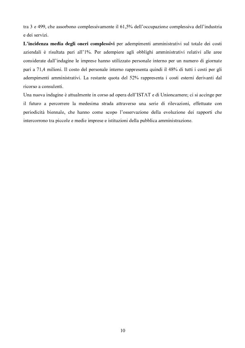 Anteprima della tesi: L'analisi d'impatto della regolamentazione, Pagina 8