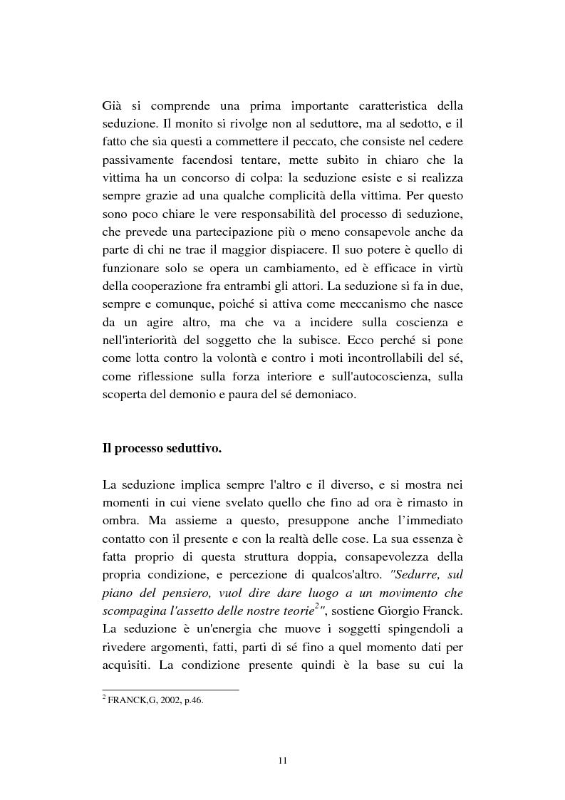 Anteprima della tesi: Economia della seduzione. Analisi delle forze concorrenziali e strategie di vantaggio competitivo nella moderna conquista amorosa, Pagina 6