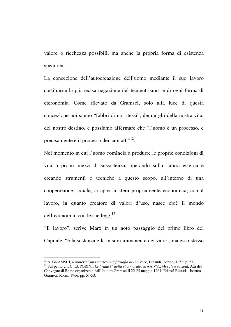 Anteprima della tesi: Karl Marx. Etica e critica dell'economia politica, Pagina 11