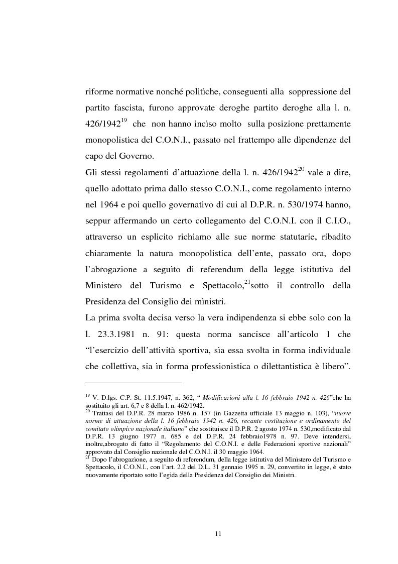 Anteprima della tesi: La tutela previdenziale del lavoro sportivo, Pagina 10