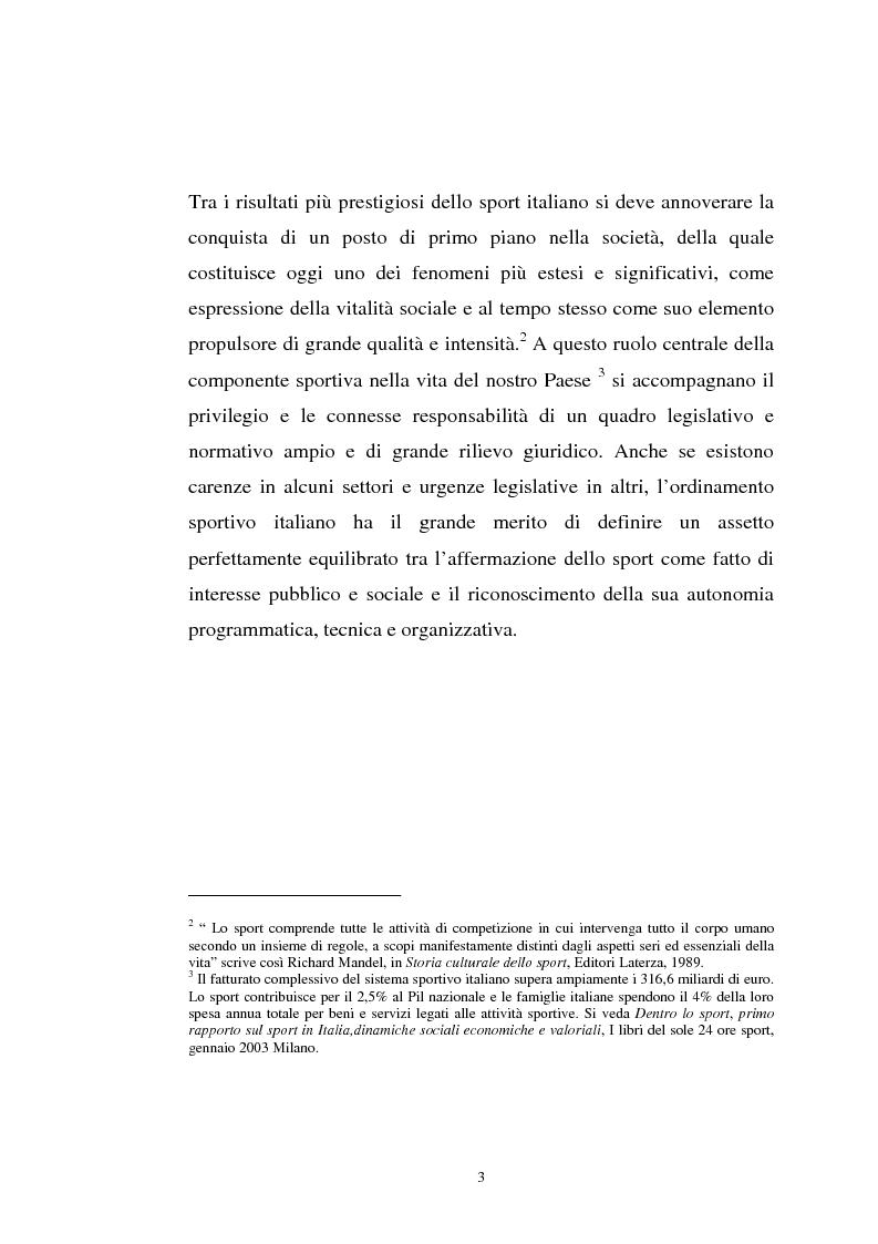 Anteprima della tesi: La tutela previdenziale del lavoro sportivo, Pagina 2