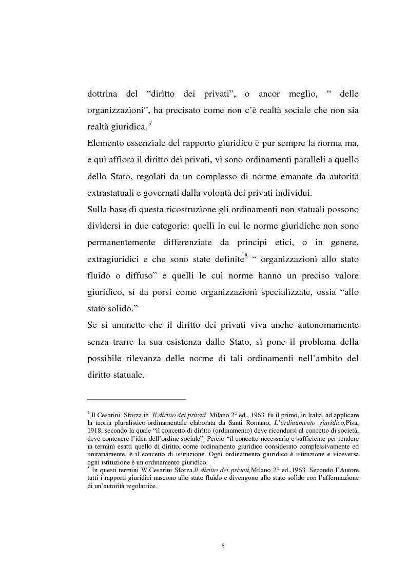 Anteprima della tesi: La tutela previdenziale del lavoro sportivo, Pagina 4