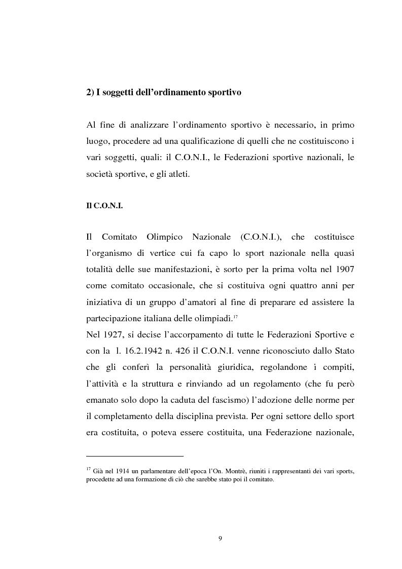 Anteprima della tesi: La tutela previdenziale del lavoro sportivo, Pagina 8