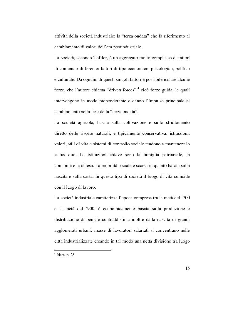 Anteprima della tesi: Organizzazione del lavoro e gestione delle risorse umane: il caso Hard Rock Cafe, Pagina 12