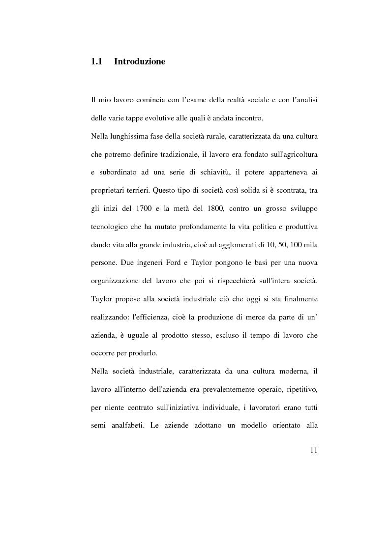 Anteprima della tesi: Organizzazione del lavoro e gestione delle risorse umane: il caso Hard Rock Cafe, Pagina 8