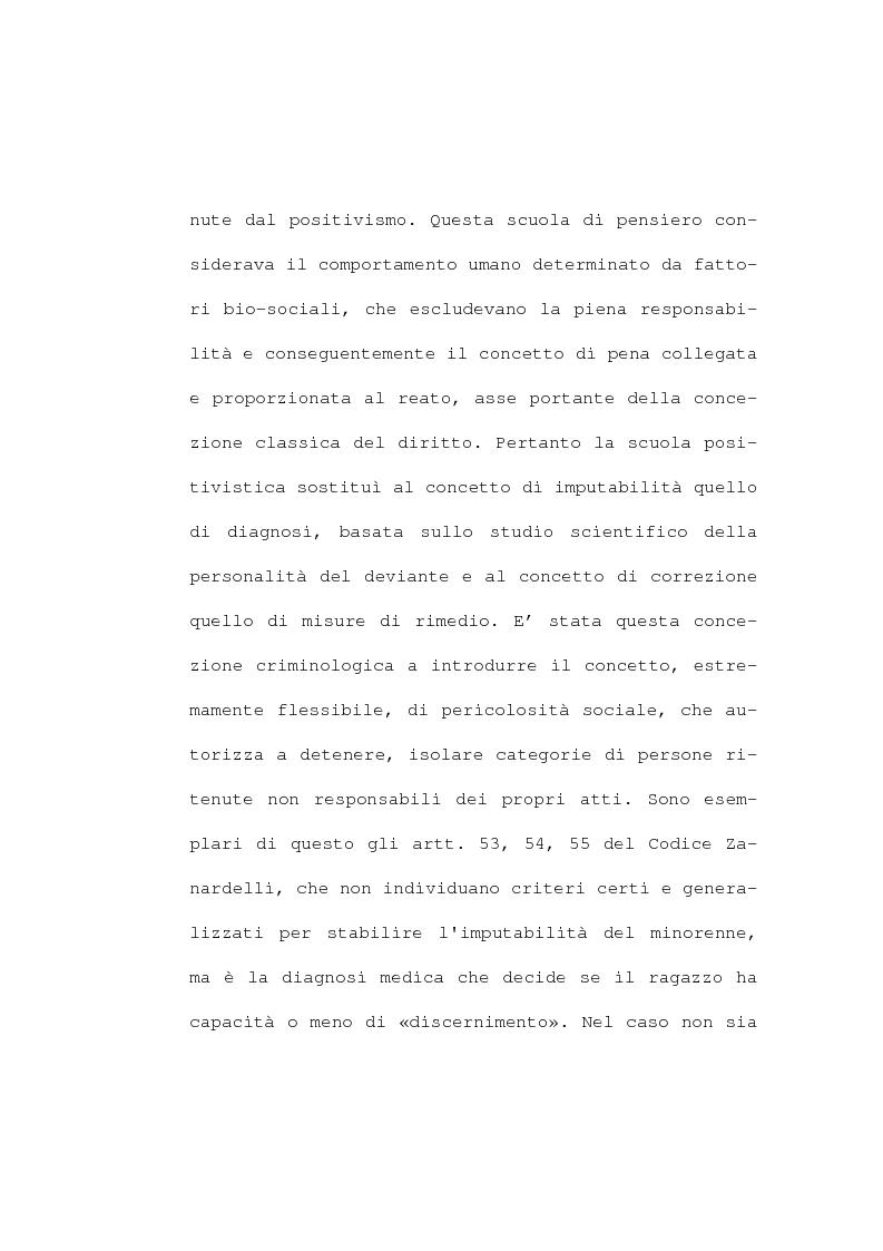 Anteprima della tesi: La devianza minorile. L'istituto di osservazione maschile per i minorenni di Firenze negli anni 1955-77, Pagina 10