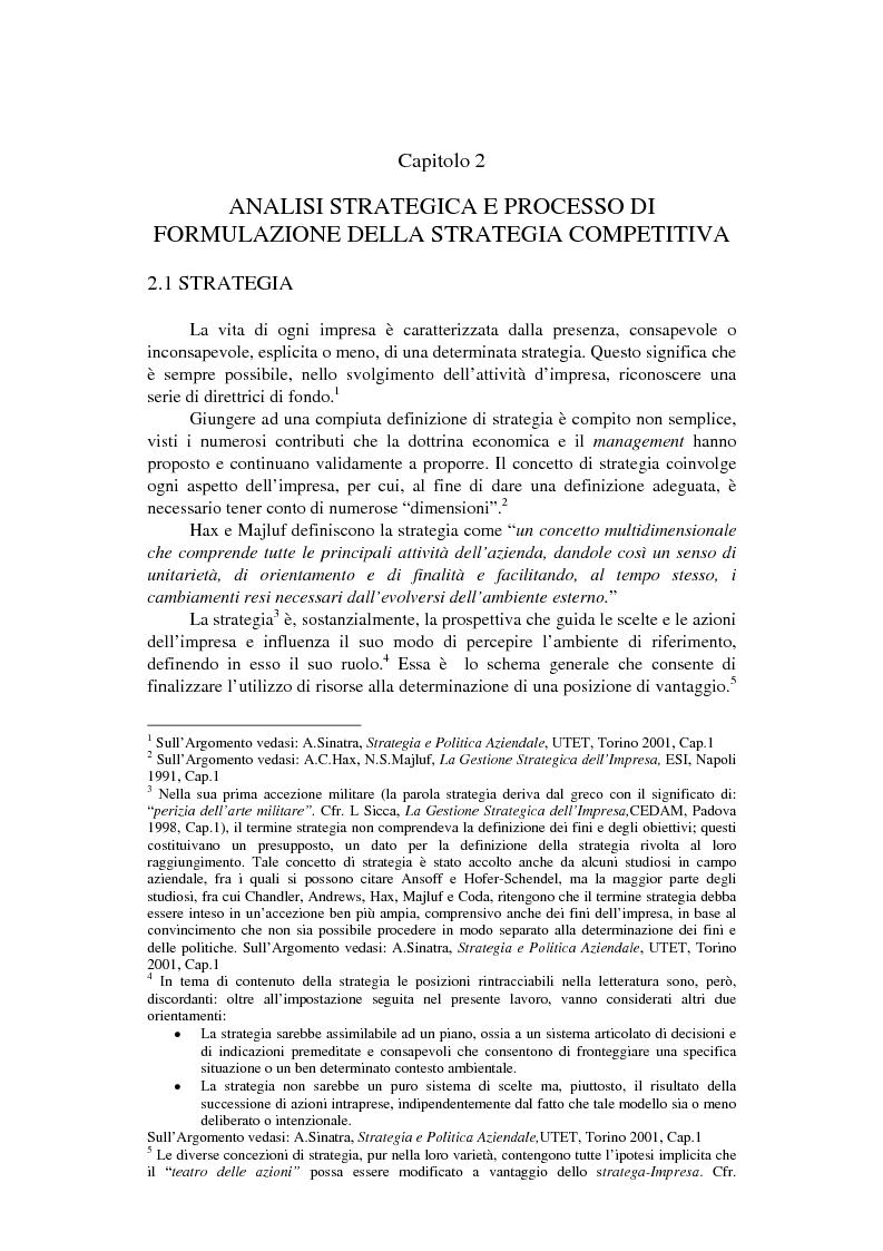 Anteprima della tesi: Strategie competitive nel settore della nautica da diporto. Il caso Rancraft, Pagina 11
