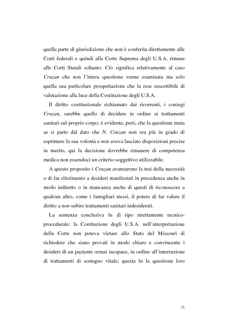 Anteprima della tesi: Le direttive anticipate di trattamento in ambito medico sanitario, Pagina 11