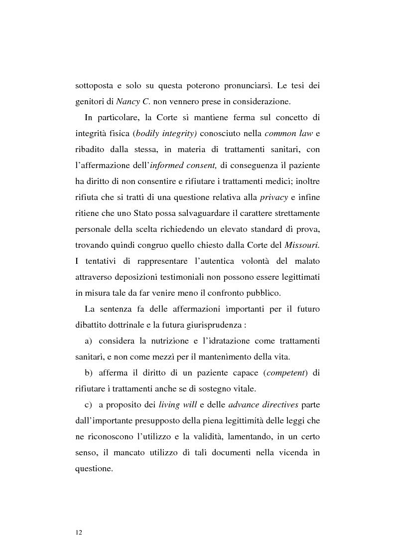 Anteprima della tesi: Le direttive anticipate di trattamento in ambito medico sanitario, Pagina 12