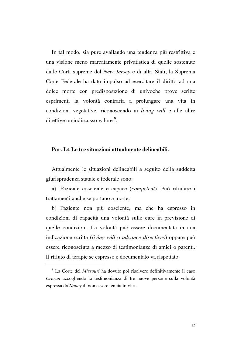 Anteprima della tesi: Le direttive anticipate di trattamento in ambito medico sanitario, Pagina 13