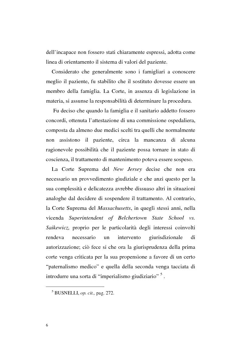 Anteprima della tesi: Le direttive anticipate di trattamento in ambito medico sanitario, Pagina 6