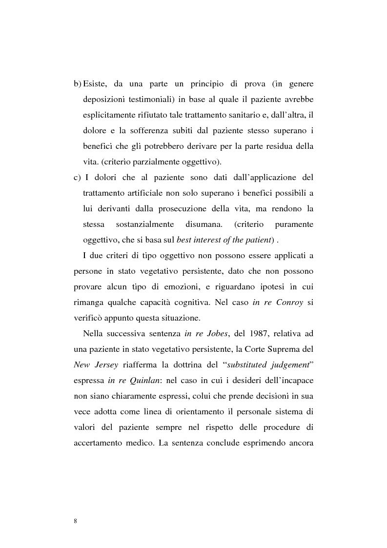 Anteprima della tesi: Le direttive anticipate di trattamento in ambito medico sanitario, Pagina 8