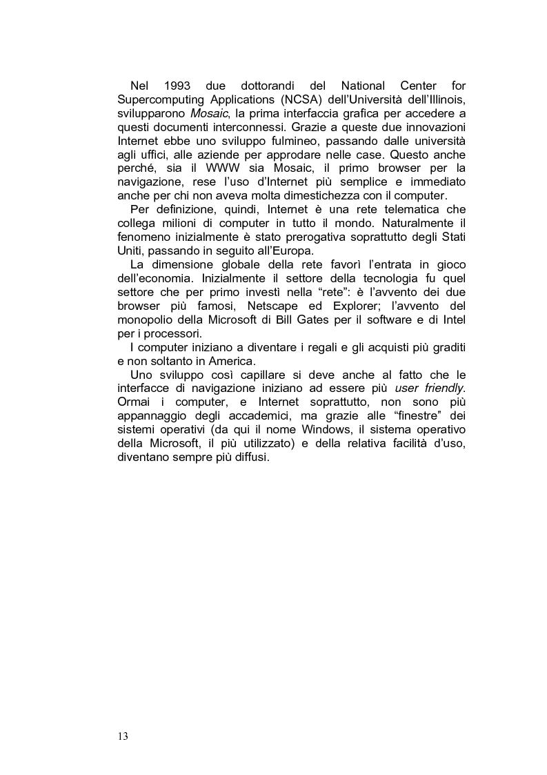 Anteprima della tesi: Giornalismo e nuovi linguaggi dei media: la forma blog, Pagina 10