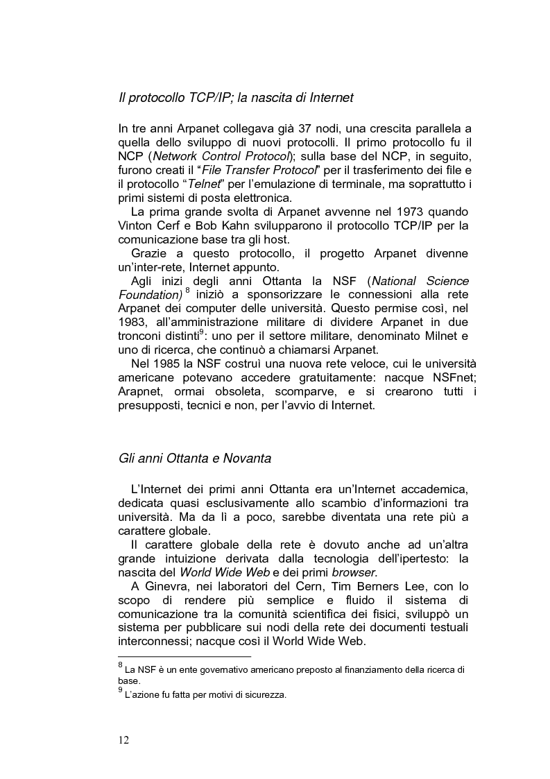 Anteprima della tesi: Giornalismo e nuovi linguaggi dei media: la forma blog, Pagina 9