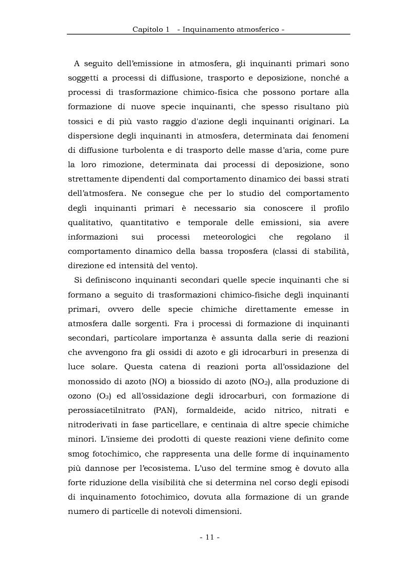 Anteprima della tesi: Metodologia cinematica per la misura delle polveri sottili in ambiente urbano, Pagina 10