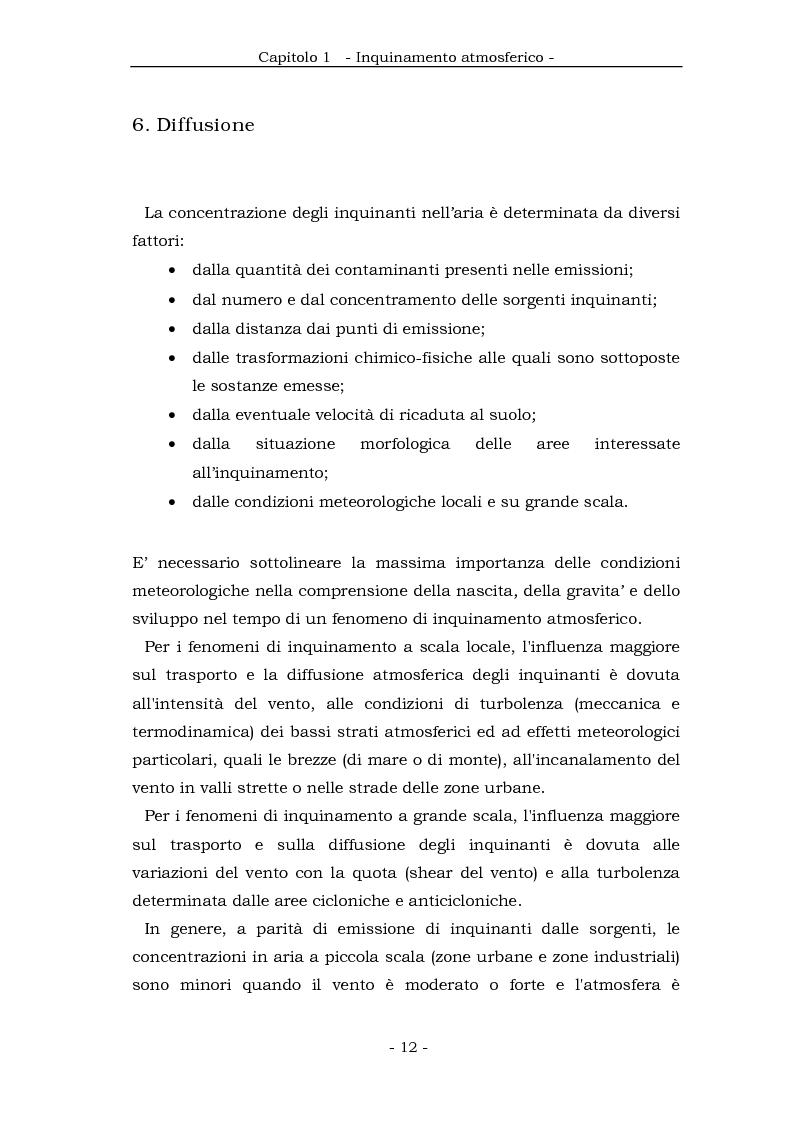 Anteprima della tesi: Metodologia cinematica per la misura delle polveri sottili in ambiente urbano, Pagina 11